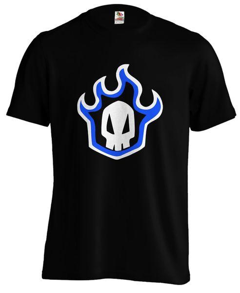 Bleach Gokon Tekkou Skull Logo Flames Anime Manga Tite Kubo T-shirt Tee