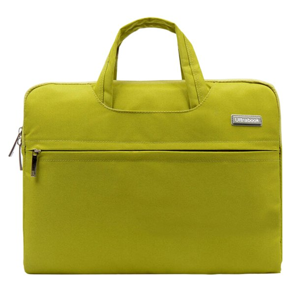 Fashion Universal Laptop Ultrabook Notebook Skin Bag &for Macbook Air Pro Sleeve Case (Green 15 inch)