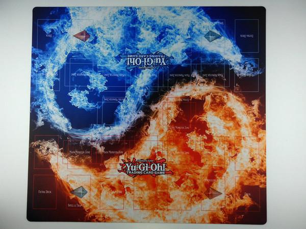 top popular YuGiOh 2-Player Duel battlefield Master Rule 4 Link custom Playmat TCG Mat New card mat 2021