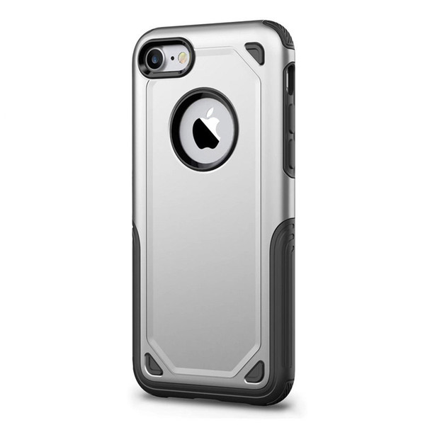 Luxury Durable Armor Hard Shockproof Hybrid Case For iPhone 7 Case Silicone TPU Phone Back Cover For iPhone 7 Plus