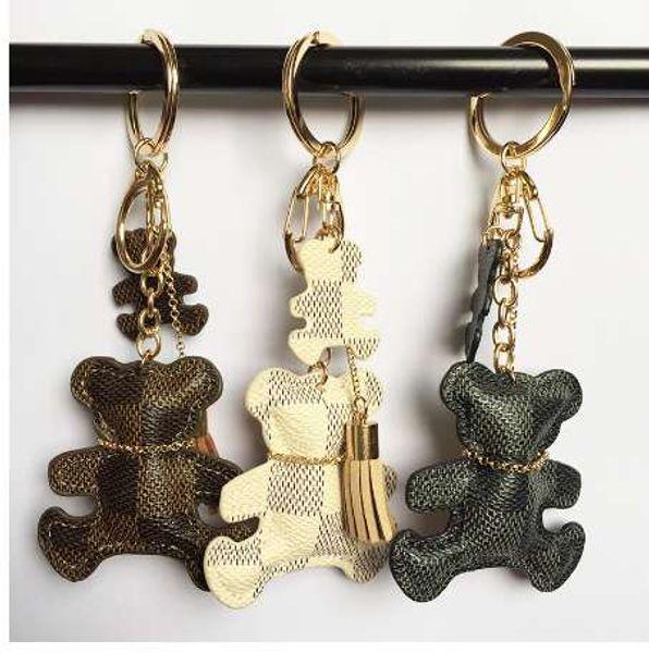 Nuova moda PU pelle anello portachiavi nappa portachiavi auto borsa portachiavi per le donne gioielli accessori regalo