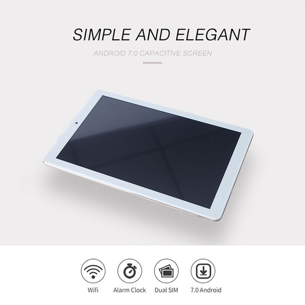 FENGXIANG For Android 10.1inch Tablets 3G/4G 7.0 Octa Core Fingerprint Unlock Tablets PC 1920*1280 80MP Pixel 8000mAh