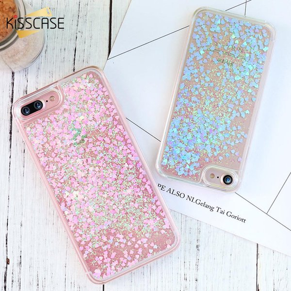 Bling Quicksand Phone Case For iPhone 6 6S Plus 5S Back Cover Glitter PC Cases For iPhone 5S SE 5 4S Shell Accessories