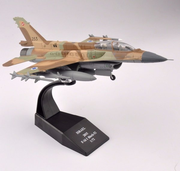 1/72 Scale Diecast ISRAEL 2015 F-16I Block-52 Airplane Aircraft Model Collection For Birthday gift free Shipping