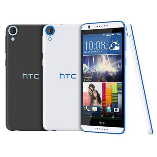 Überholte ursprüngliche HTC Wunsch 820 4G LTE Doppel-SIM 5.5 Zoll Octa Kern 2GB RAM 16GB ROM 13MP Kamera setzte androides intelligentes Telefon DHL 10pcs frei