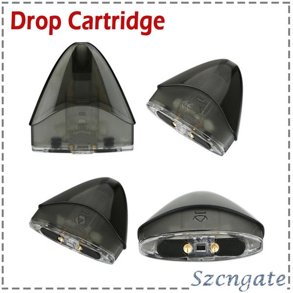 100% hohe Qualität Drop Cartridge Pod Unit 2ml für Drop Kit Elektronische Zigarette Ersatzteile Zubehör 0266185-1