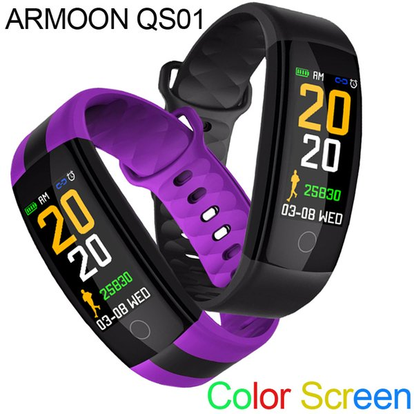 d69a10c116f9 Comparativa De Relojes Inteligentes Smart Band QS01 Monitor De Sueño  Fitness Tracker HeartRate Pulsera Inteligente Presión Arterial Smartband  Color ...