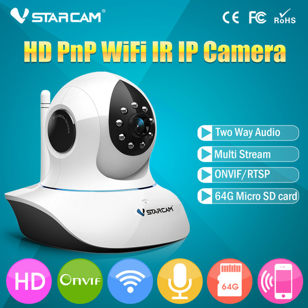 VStarcam C7838WIP Wireless WiFi Security Network IP Camera Remote Surveillance 720P HD Indoor Pan Tilt Zoom Audio Recording Cam