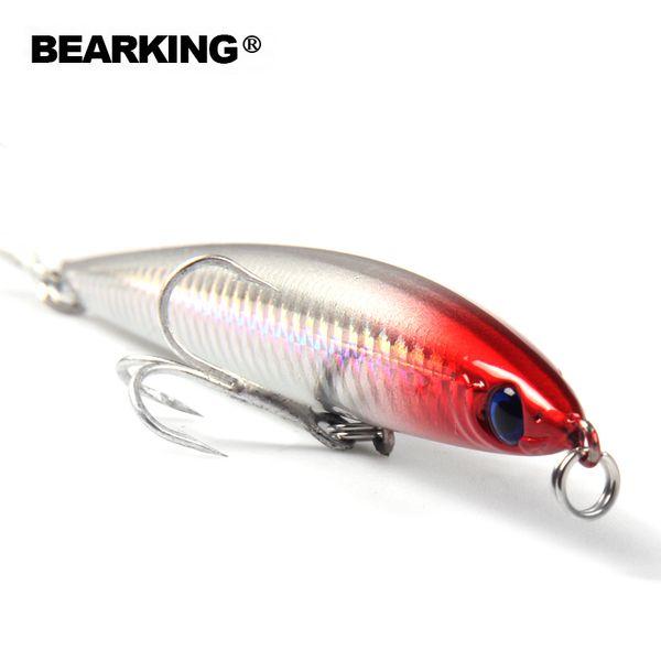 2017 Hot Model Bearking Pencil 125mm 26g Fishing Wobblers 5pcs/lot Fishing Lure Bait Swimbait Crankbait with 2xstrong Hooks