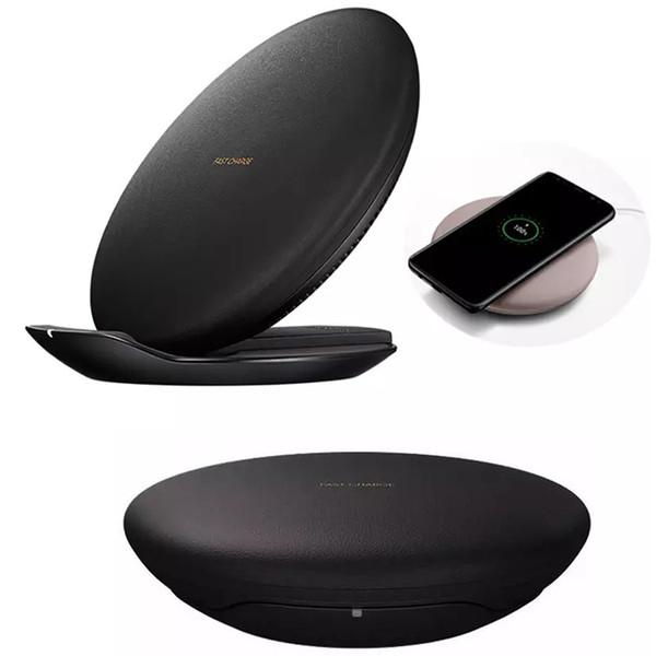 Samsung S8 için Kablosuz Hızlı Şarj Pad Sıcak Satmak Kaliteli Standı Hızlı Hızlı şarj Samsung S7 S6 S6 kenar