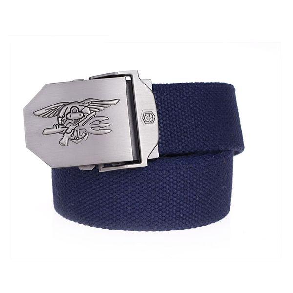 Eagle Canvas Tactical Belts hawk Woven ARMY  Belts For Men Women  Jeans Belt designer  Alloy metal buckle