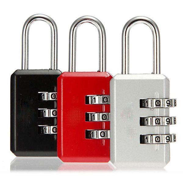 2019 Nice 3 Digit Dial Combination Code Number Lock Padlock For Luggage  Zipper Bag Backpack Handbag Suitcase Drawer From Rudelf, $32 59 | DHgate Com
