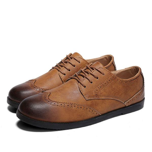 Zapatos Cuero De Hombre Mx8118166 Social Marca Verano Lujo Diseñador qREqx1rw