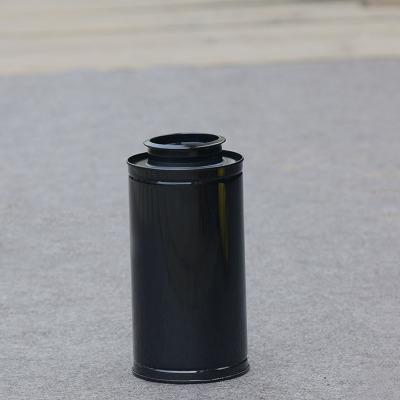 Dia.9*18cm New Arrival Round tea tin box candy storage bo
