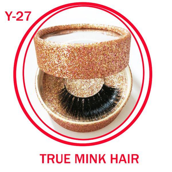 New arrival Individual Eyelashes Strip makeup Real Mink Natural Thick False Fake Eyelashes Eye Lashes Makeup Extension Beauty Tools gr158