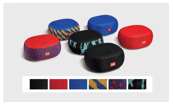 2018 new v8 outdoor portable wireless Bluetooth speaker factory outlet