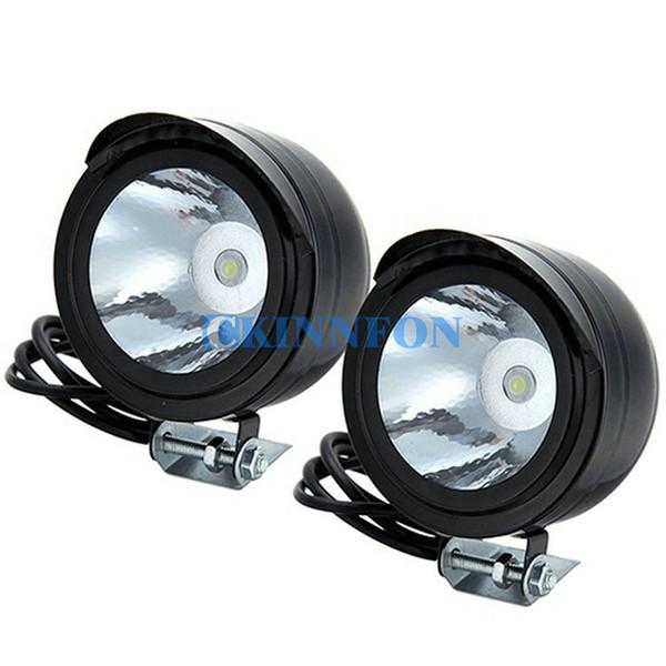 DHL 50PCS 2PCS/Set 3w 12v-80v Motorcycle Vehicle Bikes Headlight Car Reverse LED Lights