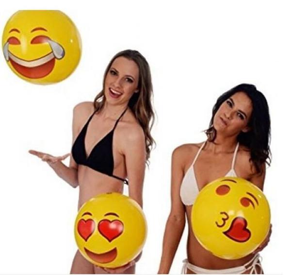 Outdoor smiley palla bambino spiaggia 30 cm palla gonfiabile smiley face ball giocattoli da spiaggia per bambini genitore-bambino giochi regali giocattoli