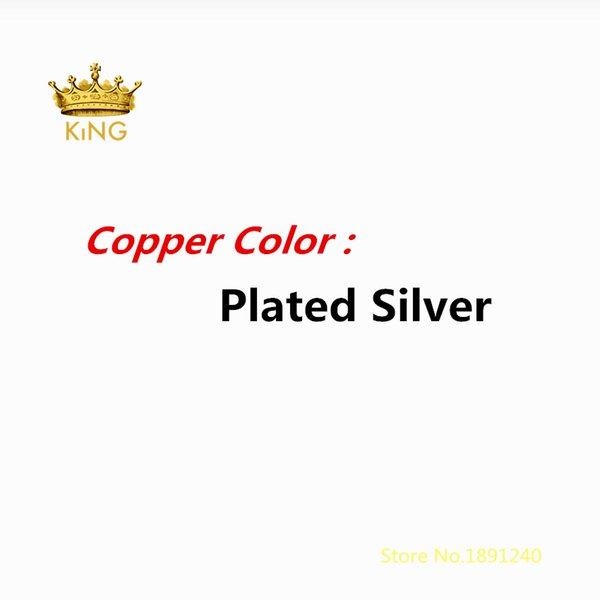 Позолоченный серебряный