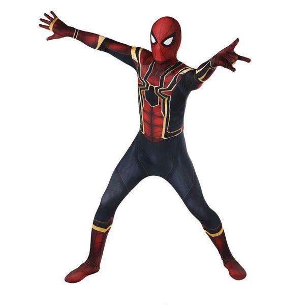 The Avengers 3, Spider-Man costumes, steel, Spider-Man returns, Spider-Man Cos.Halloween dresses