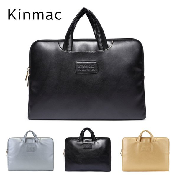 """2018 Newest Brand Kinmac PU Leather Handbag Bag For Laptop 13"""",14"""",15.6 inch, Case For MacBook Air,Pro 13.3"""", Free Drop Shipping"""