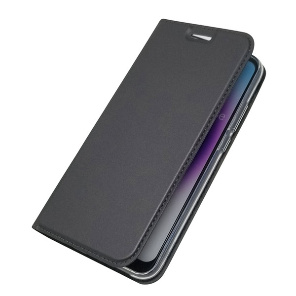 Wholesale PU Leather Case For Huawei P20 Pro P20 Lite P10 Plus P10 Lite P8 Lite (2017) Card Holder Flip Magnetic Solid Colored
