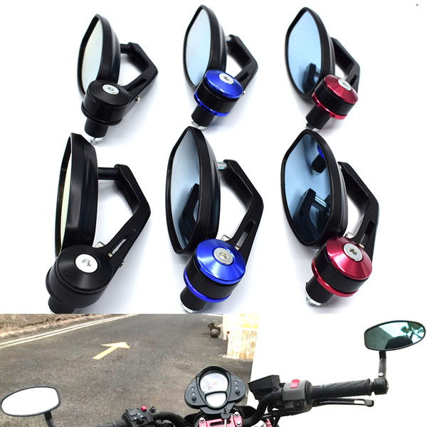 For 22mm Motorcycle Handlebar Universal Rearview Mirror Mounting Adapter Holder Clip For Moto Scooter With Or Bolt Hole