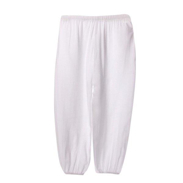 10 Colors Baby Pant Boys Girls Trousers Summer Unisex Kids Lantern Harem Pants Full Cotton Full Length Pants For Children