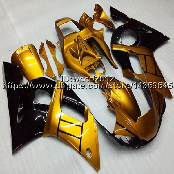 manufacturer customize motor Fairing YZFR1 1998 1999 motorcycle Full fairing kits for Yamaha YZF-R1 1998 1999 ABS Plastic Bodywork Set