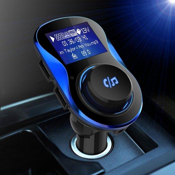 Transmisor FM para coche con cargador USB dual