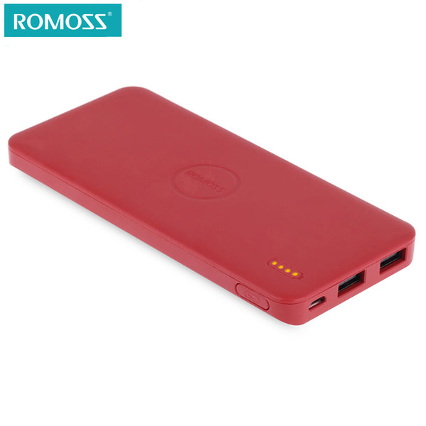 ROMOSS 5000mAh Power Bank Polymos 5 External Battery Pack Portable Mobile Charger For iPhone Xiaomi Huawei
