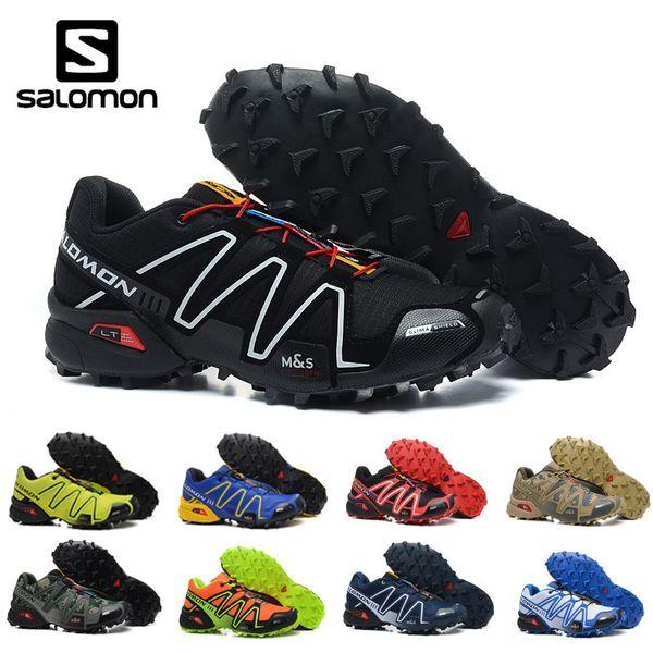 2019 Salomon Speed cross cs 3 III Men running Shoes sports