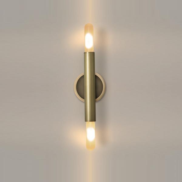 Großhandel Alle Kupfer Moderne Spiegel Scheinwerfer LED Wand Lampe ...