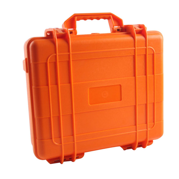 ABS Tools Box Instrument Storage Protective Case Waterproof Shockproof Suitcase Multifunctional Storage Box 41.5*37*14cm