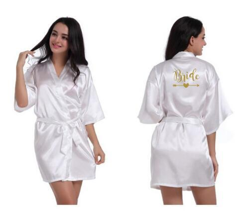 11b5c4c384 2019 Personalized Bridal Party Robes Bridesmaids Bride Tribe Robe ...