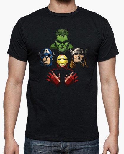 T-shirt uomo nuova di Avengers rhapsody taglia S-2XL
