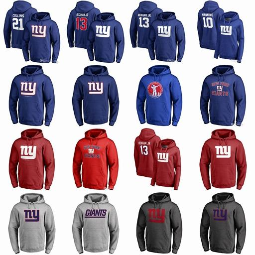 brand new 47eb8 89235 2019 Mens Women Youth American Football Hoodies Landon Collins Odell  Beckham Jr Eli Manning Sweathirts Hoodies Top Quality From Diy05, $30.97 |  ...