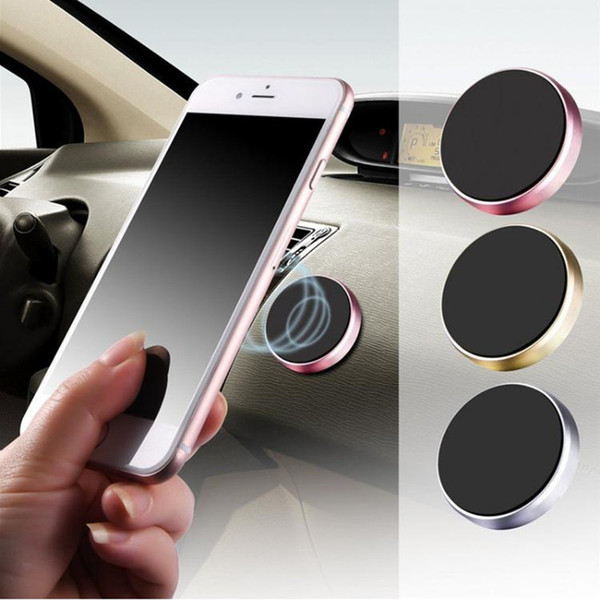 top popular Magnetic Mobile Phone Holder Car Dashboard Mobile Bracket Cell Phone Mount Holder Stand Universal Magnet wall sticker For iPhone 2021