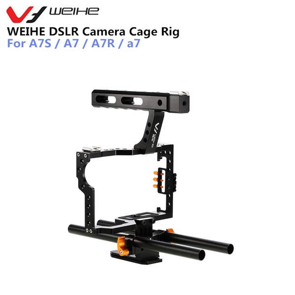 wholesale DSLR Camera Protective Case Cover Camera Video Cage Stabilizer Rig Camera Protective Cage for A7S / A7 / A7R / a7