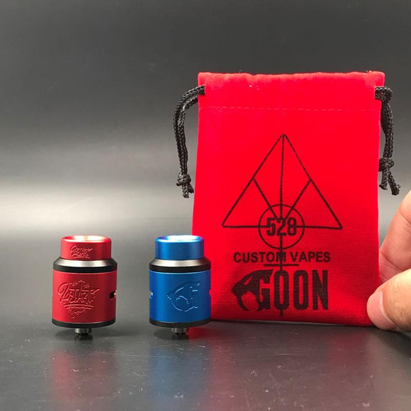 LostArt Edition Goon V 1.5 RDA Clone Replaceable Dripping Atomizers 24mm 528 Goon Lost Art V1.5 Fit 510 Vape Mod DHL