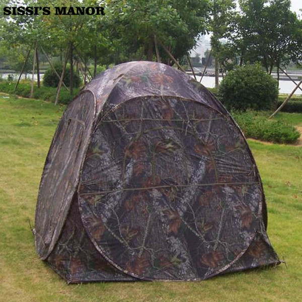 One Person Automatic Pop Up Camouflage Hiden Watching Bird Photography Private Photo Taking Hiking Fishing Outdoor Camping tent