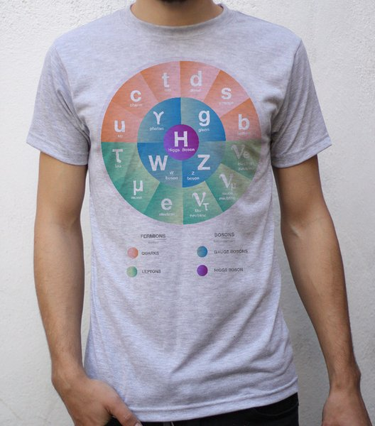 The Standard Model of particle physics T shirt Design Funny free shipping Unisex Casual gift