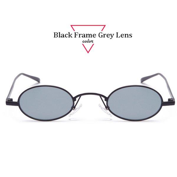 Black Frame Grigio Lens