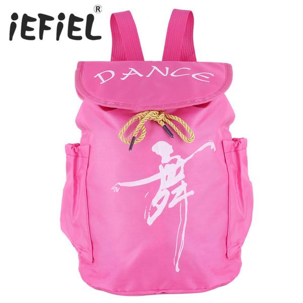 Fashion Cute Child Kids Ballet Bag Backpack Waterproof Canvas Ballet Dance Bags Ballerina Drawstring Students School Backpack
