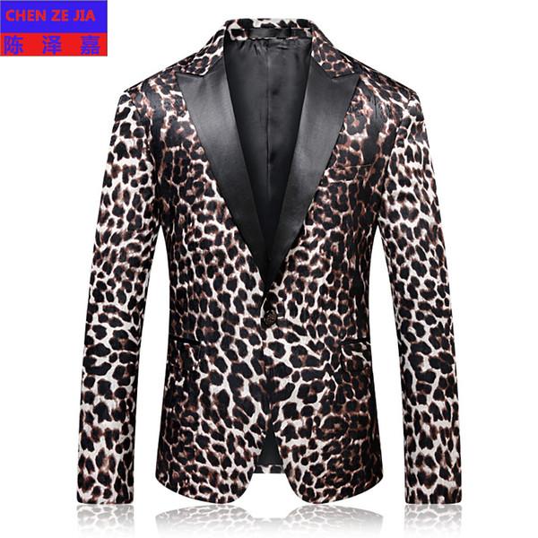 Neue ankunft mode hohe qualität luxus herren Anzug Mantel Abendessen Kleid Einreiher Casual Blazer Männer plus größe MLXL2XL3XL4XL
