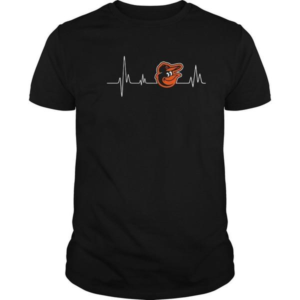 Baltimore Orioles Heartbeat camiseta talla S a 2XL