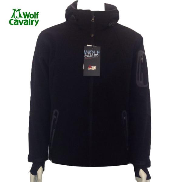 2019 Cavalrywolf Outdoor Wool Softshell Jacket Men Windproof Waterproof Male Hiking Camping Hiking Heated Clothing From Sport2017, $102.34  