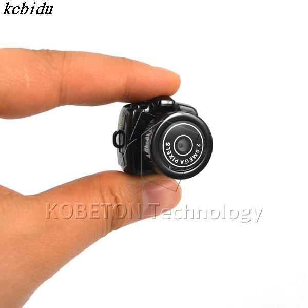 kebidu HOT Micro Mini HD CMOS2.0 Mega Pixel Pocket Video Audio Digital Camera Portable Camera 480P DV DVR Camercorder 720P JPG