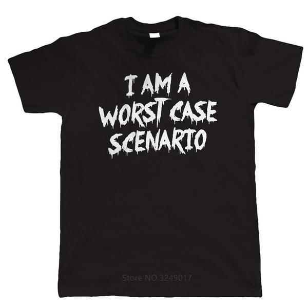 2018 Yeni Yaz Sıcak Satış Moda T Shirt Zomer Erkekler O-Boyun Kısa Kollu Kötü Durumda Senaryo T Shirt