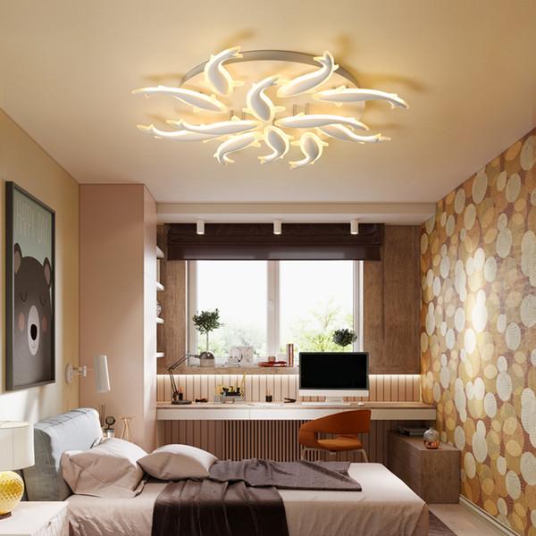 Großhandel LED Lampe Lampe Modernen Minimalistischen Wohnzimmer Decke  Nordic Kreative Künstlerische Persönlichkeit Und Atmosphäre Atmosphäre ...